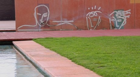 Bruce McLean - wall 2